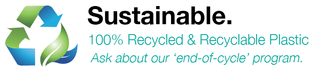 AP Plastics Inc - Sustainable, 100% Recycled & Recyclable Plastic