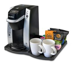 KT130 - Keurig K130 Hotel Guest Room Brewer Tray with Overwrap K-Cup Pods